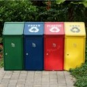 Recycling waste starts with sorting out
