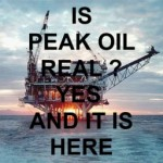 Is Peak Oil real ? Yes, and it is here