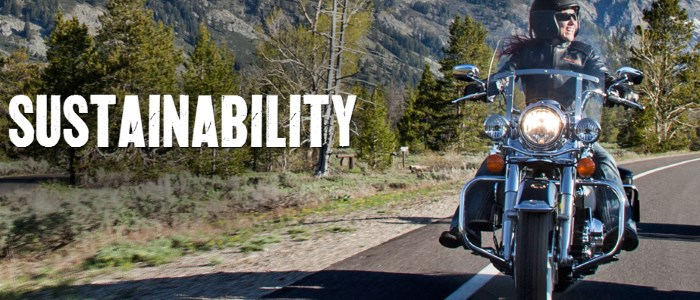 Harley Davidson and sustainability