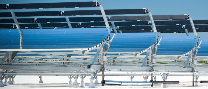 Concentrated solar
