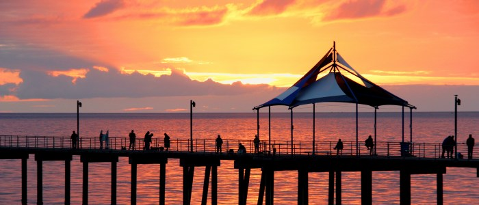 Adelaide Pier, in Australia