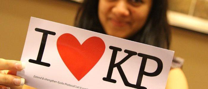 I love the Kyoto Protocol