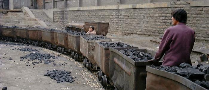 China coal train
