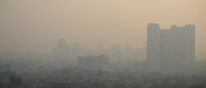 Horrendous air pollution in Dehli, India