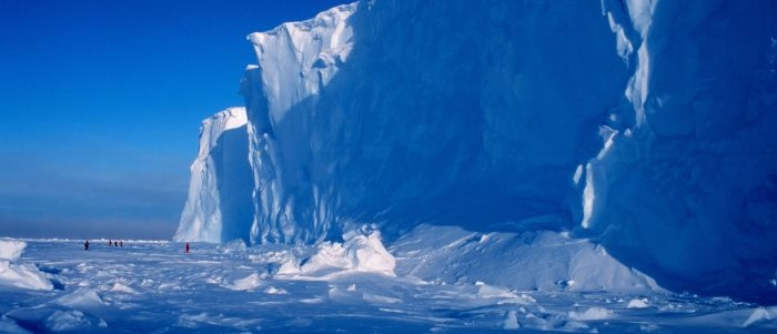Antarctica ice shelf