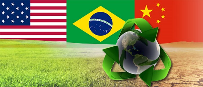 USA China and Brazil unite on climate