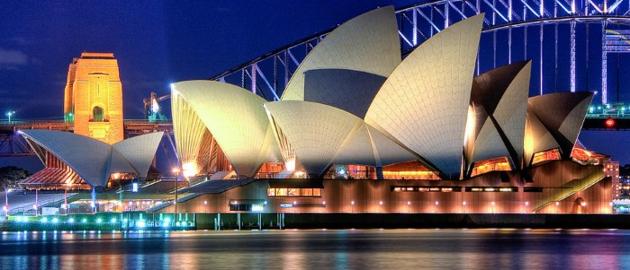 Sidney famous Opera House