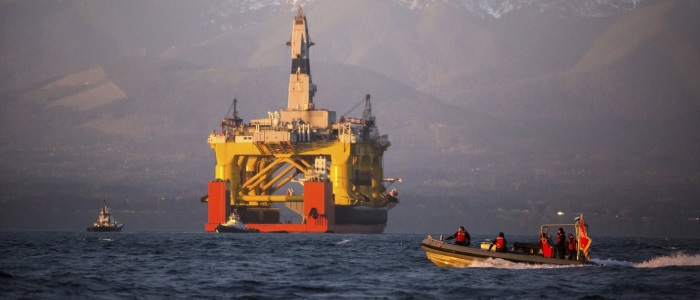 Shell stops arctic drilling